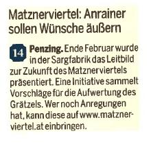 """""""Anrainer sollen Wünsche äußern"""""""