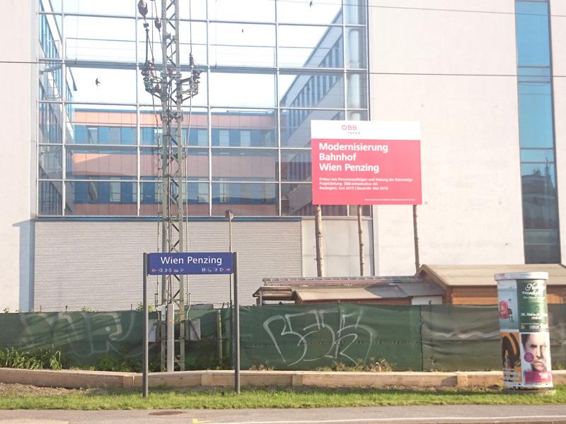 Modernisierung Bahnhof Penzing