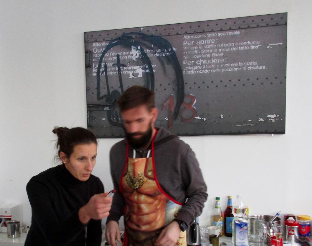 """Popup Cafe, """"Linzer Schnitte"""", mit Konditorin Christina Tambosi"""