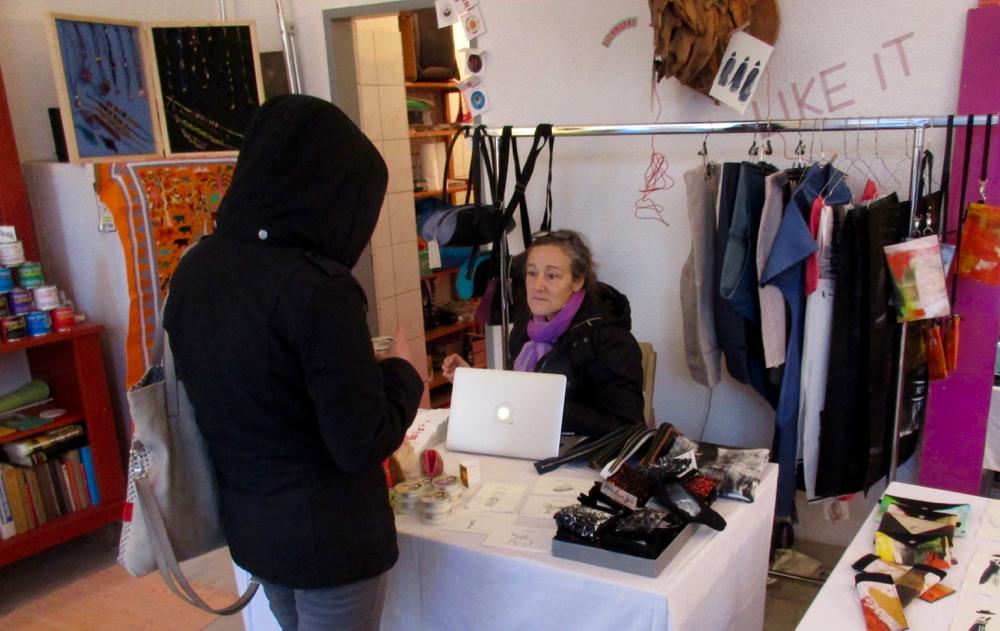 Selbstgenähtes aus neuen und upcycelten Materialien von Ulrike Schörflinger