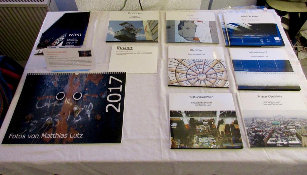 Kalender und Bücher von Matti Lutz