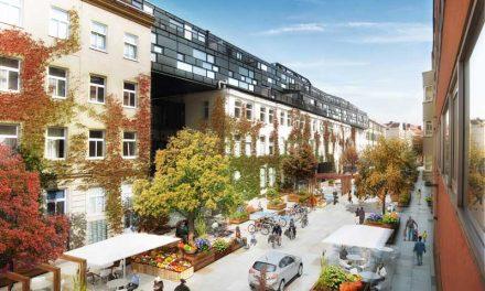 Cool bleiben im Matznerviertel: Ideen gegen Hitze in der Stadt