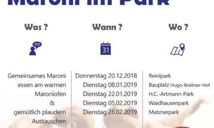 Fair-Play-Team lädt zu Maroni im Park