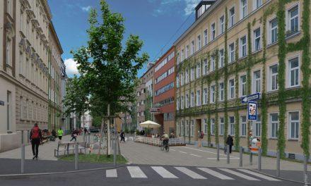 Abschnitt Goldschlagstraße wird Begegnungszone