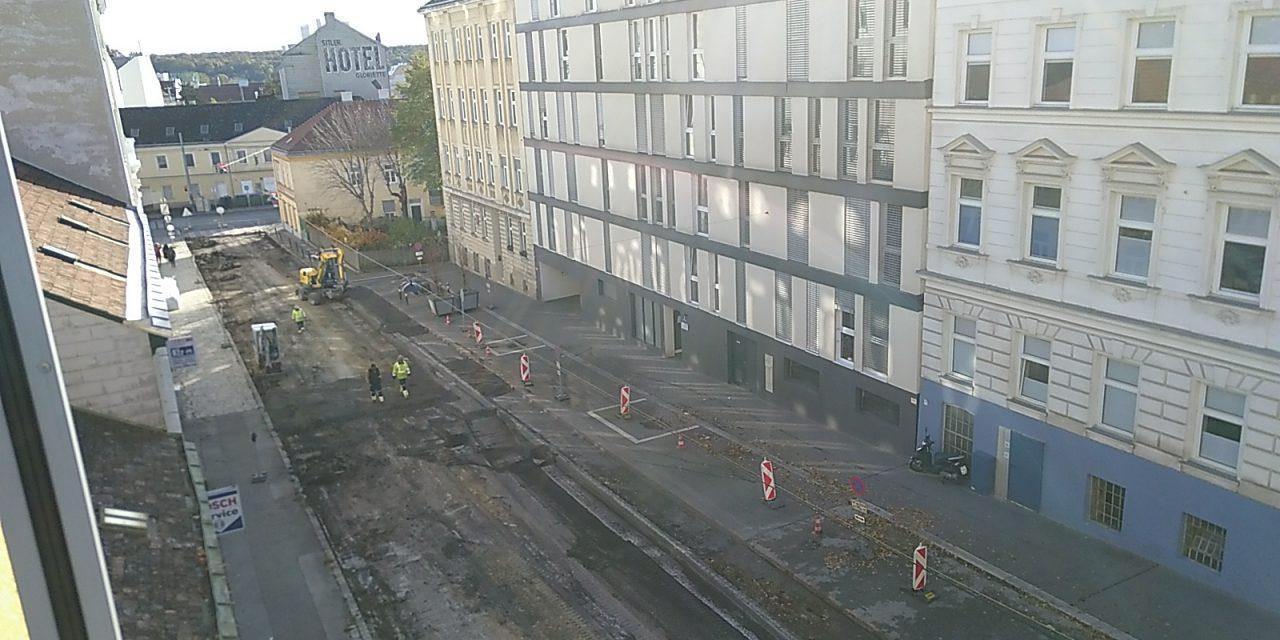 Straßensanierung Missindorfstraße – Bäume sollen kommen