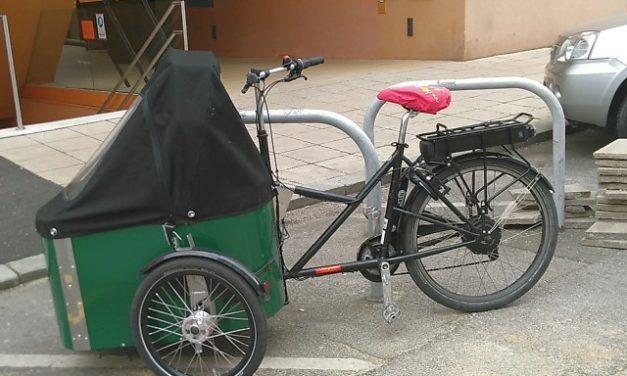 Förderaktion für elektrische Lastenfahrräder und -anhänger für Betriebe und Vereine