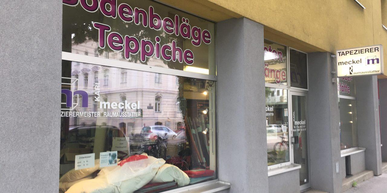 Tapezierermeister und Raumausstatter Karl Meckel