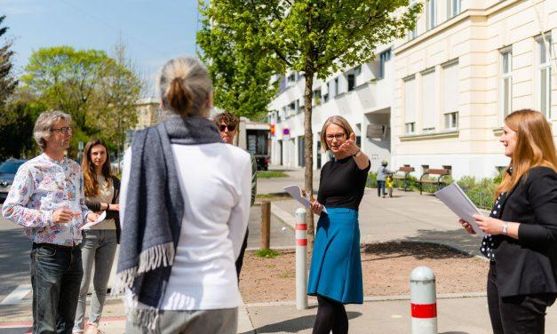"Volksschule Märzstraße bekommt ""Freiluft-Klassenzimmer"""