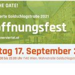 Eröffnungsfest Lebenswerte Goldschlagstraße